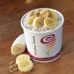 Fresh Banana Oatmeal