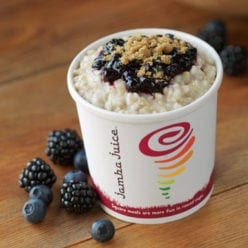 Blueberry & Blackberry Oatmeal